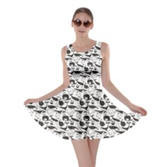 Gray Vintage Whale Skater Dress by cowcowclothing