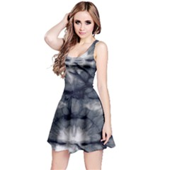 Navy Tie Dye Sleeveless Dress by CoolDesigns