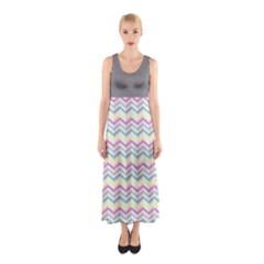 Maxi Dress - Chevron 03 Full Print Maxi Dress by CoolDesigns