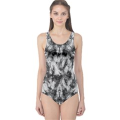 White Tie Dye 2 One Piece Swimsuit by CoolDesigns