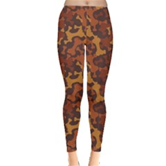 Brown Pattern Bone For A Dog Women s Leggings by CoolDesigns