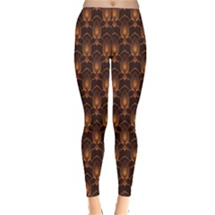 Black Candle Pattern Women s Leggings by CoolDesigns
