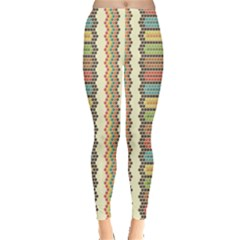 Colorful Ethnic African Beads Color Pattern Women s Leggings by CoolDesigns