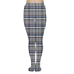 Dark Plaid Pattern Tights by CoolDesigns