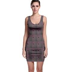 Black Spiderweb Pattern Bodycon Dress by CoolDesigns