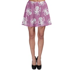 Purple Cute Octopus Stylish Design Skater Dress by CoolDesigns