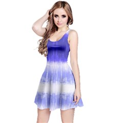Blue Tie Dye Sleeveless Dress by CoolDesigns