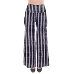 Black Strip Tie Dye Palazzo Pants by CoolDesigns