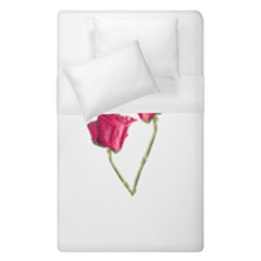 Red Roses Photo Duvet Cover (single Size) by dflcprints