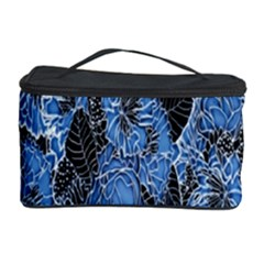 Floral Pattern Background Seamless Cosmetic Storage Case by Simbadda