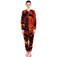 Lava Active Volcano Nature Onepiece Jumpsuit (ladies)  by Alisyart