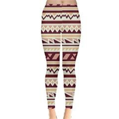 Pattern Tribal Triangle Leggings  by Alisyart