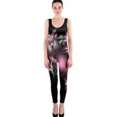 Colour Of Nature Fractal A Nice Fractal Coloured Garden Onepiece Catsuit by Simbadda