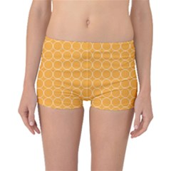 Yellow Circles Boyleg Bikini Bottoms by Alisyart