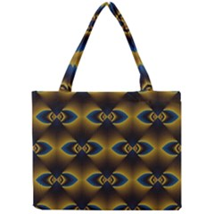 Fractal Multicolored Background Mini Tote Bag by Simbadda