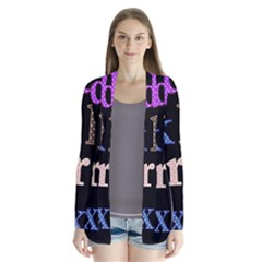 Alphabet Letters Colorful Polka Dots Letters In Lower Case Cardigans by Simbadda
