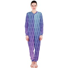 Abstract Lines Background Onepiece Jumpsuit (ladies)