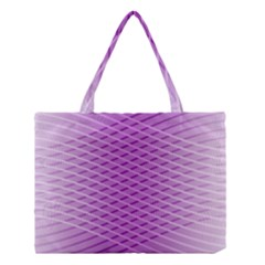 Abstract Lines Background Pattern Medium Tote Bag by Simbadda