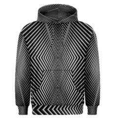 Abstract Of Shutter Lines Men s Pullover Hoodie