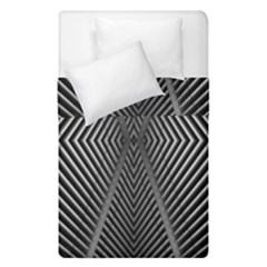 Abstract Of Shutter Lines Duvet Cover Double Side (single Size) by Simbadda