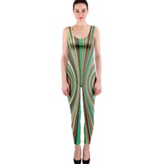 Colorful Spheric Background Onepiece Catsuit by Simbadda