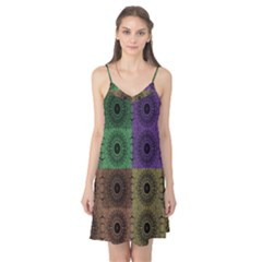 Creative Digital Pattern Computer Graphic Camis Nightgown by Simbadda