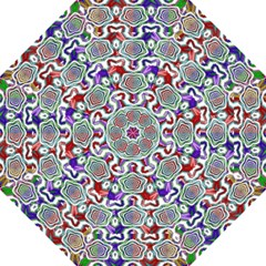 Digital Patterned Ornament Computer Graphic Golf Umbrellas by Simbadda