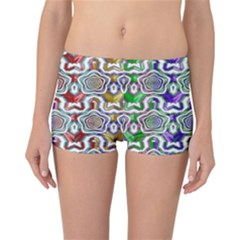 Digital Patterned Ornament Computer Graphic Reversible Bikini Bottoms