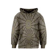 Abstract Image Showing Moiré Pattern Kids  Pullover Hoodie by Simbadda