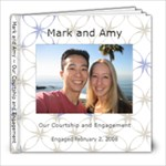 Mark and Amy - 8x8 Photo Book (30 pages)