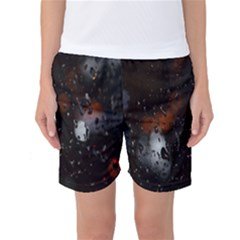 Lights And Drops While On The Road Women s Basketball Shorts