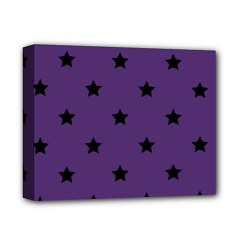Stars Pattern Deluxe Canvas 14  X 11  by Valentinaart