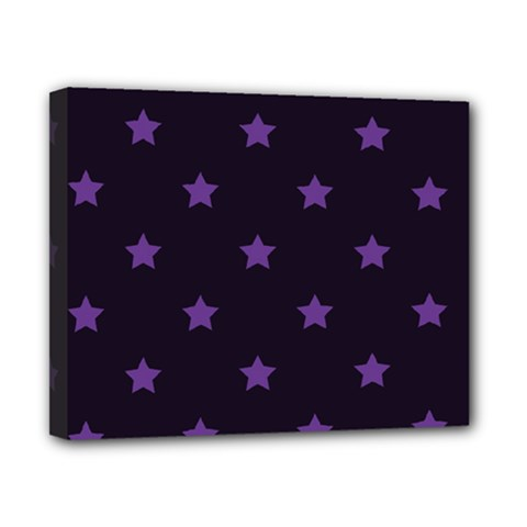 Stars Pattern Canvas 10  X 8  by Valentinaart
