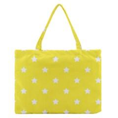 Stars Pattern Medium Zipper Tote Bag by Valentinaart