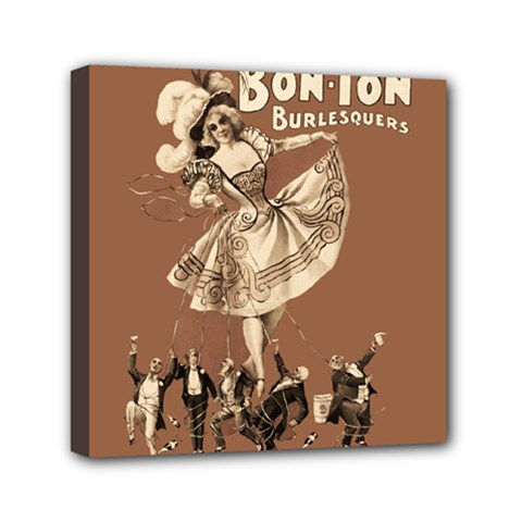 Bon Ton Mini Canvas 6  X 6  by Valentinaart