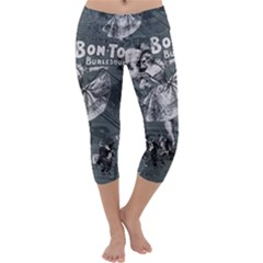 Bon-ton Capri Yoga Leggings by Valentinaart