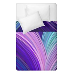 Color Purple Blue Pink Duvet Cover Double Side (single Size) by Mariart