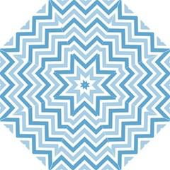 Zig Zags Pattern Folding Umbrellas by Valentinaart