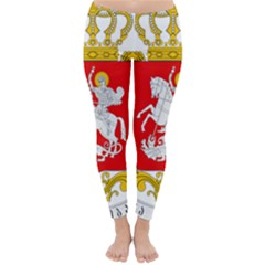 Greater Coat Of Arms Of Georgia Classic Winter Leggings by abbeyz71