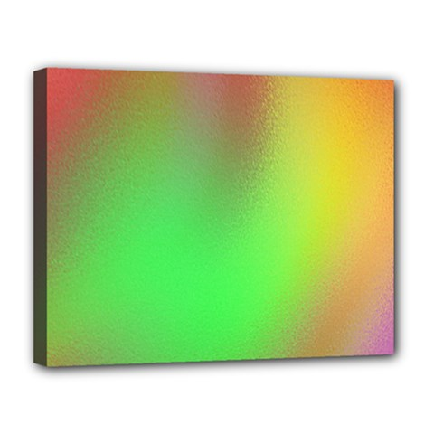 November Blurry Brilliant Colors Canvas 14  X 11  by Simbadda