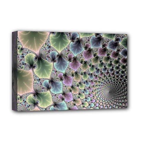 Beautiful Image Fractal Vortex Deluxe Canvas 18  X 12   by Simbadda