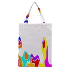 Simple Abstract With Copyspace Classic Tote Bag by Simbadda