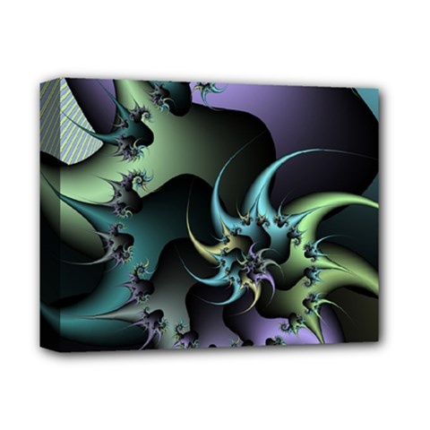 Fractal Image With Sharp Wheels Deluxe Canvas 14  X 11  by Simbadda