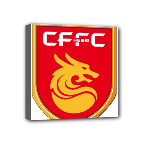 Hebei China Fortune F C  Mini Canvas 4  X 4  by Valentinaart