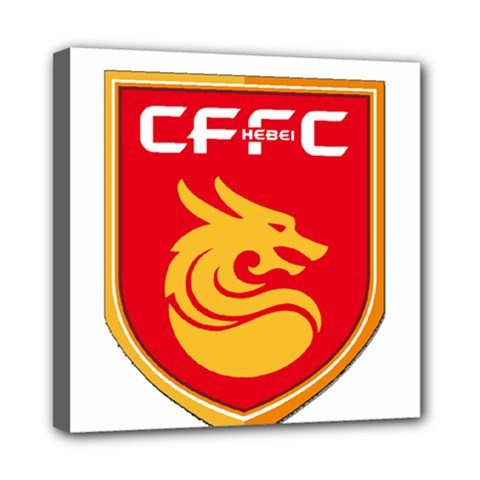 Hebei China Fortune F C  Mini Canvas 8  X 8  by Valentinaart