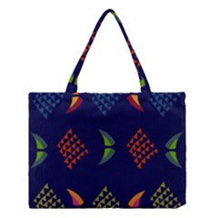 Abstract A Colorful Modern Illustration Medium Tote Bag by Simbadda