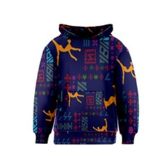 A Colorful Modern Illustration For Lovers Kids  Pullover Hoodie by Simbadda