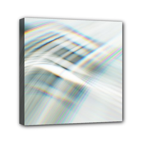 Business Background Abstract Mini Canvas 6  X 6  by Simbadda