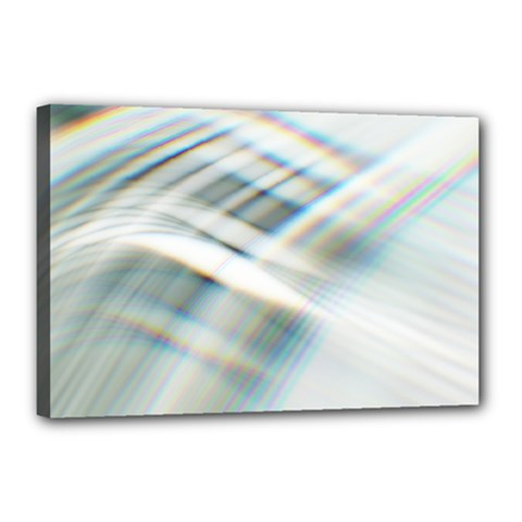 Business Background Abstract Canvas 18  X 12  by Simbadda