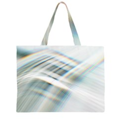Business Background Abstract Zipper Large Tote Bag